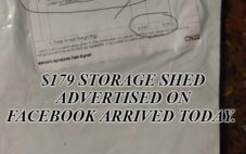 Facebook Shopify Storage Shed scam refund instructions, here's a copy of the item sent packaging